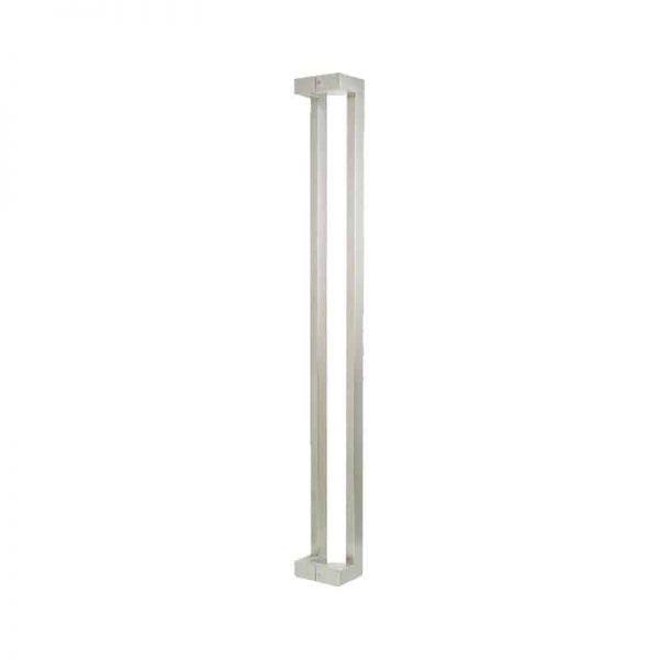 long offset satin chrome handle