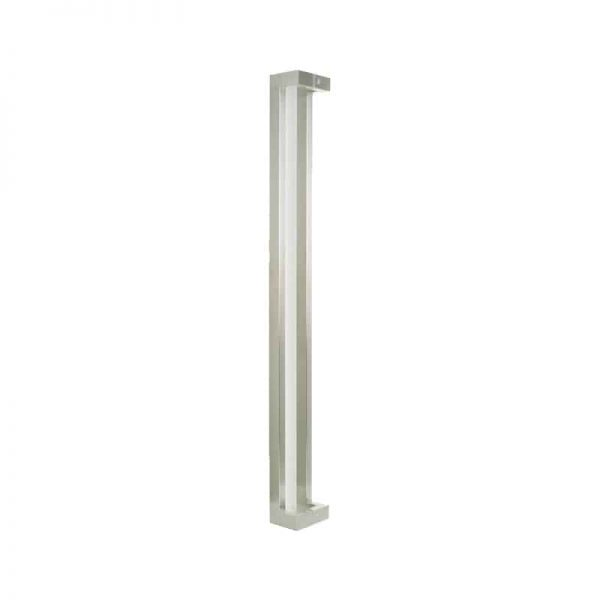 milton series door pull handle - satin chrome