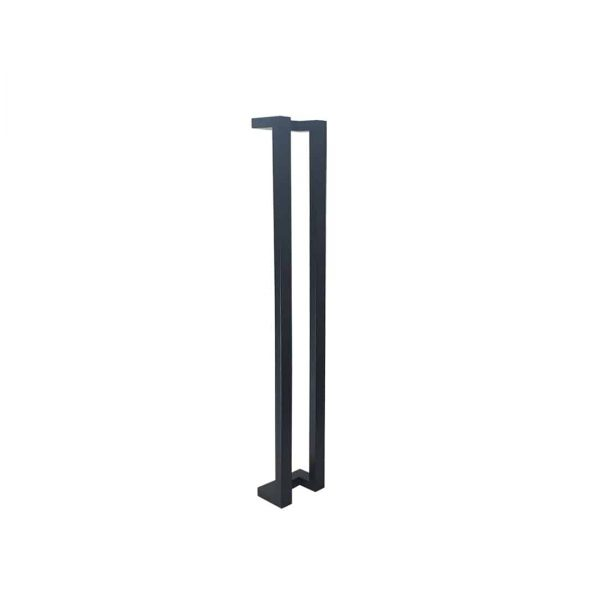 100 CM Satin Matt Black Push Pull Handles | Milton Series