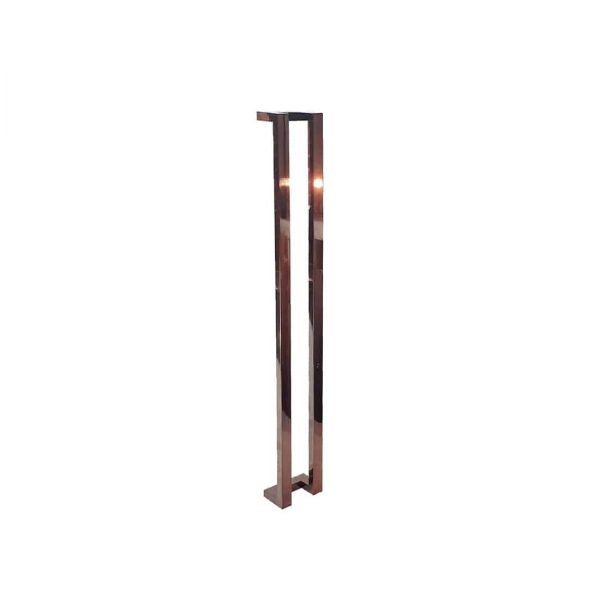 120 CM Polished Rose Gold Entrance Door Handles | Milton Series
