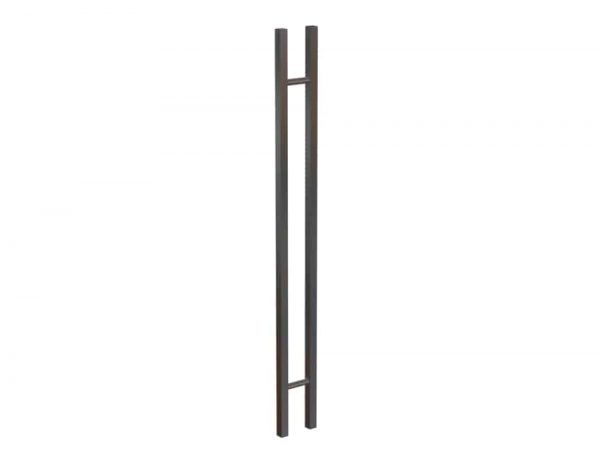 120 cm SATIN BRUSH Entrance Door Handles | Gladstone Series