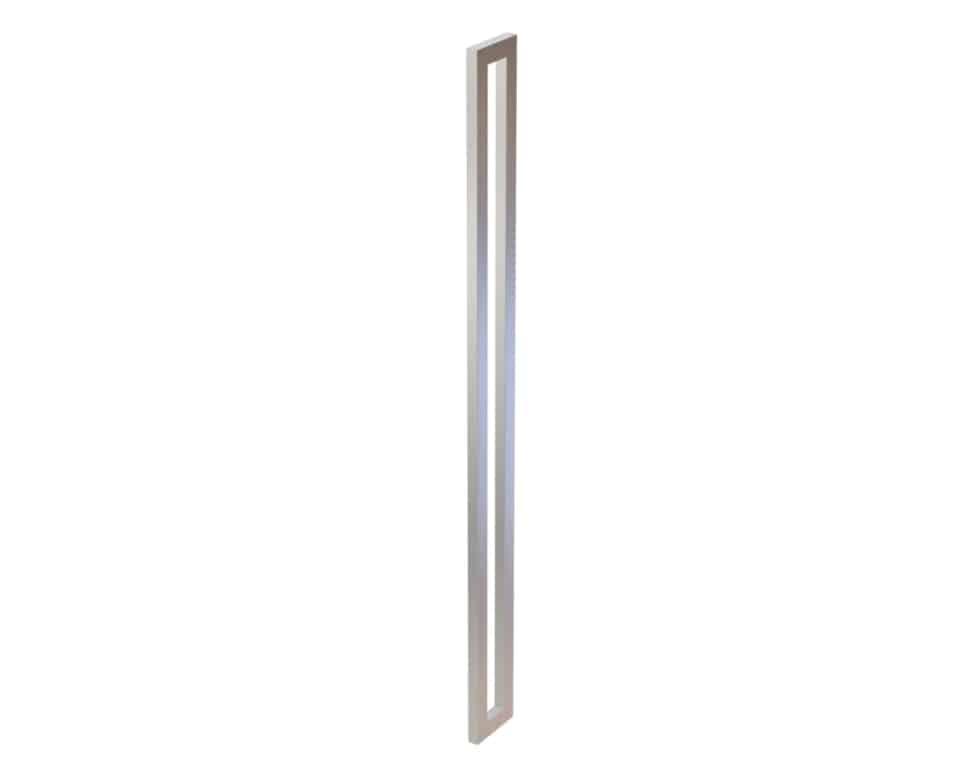 1500 MM Satin Brush Front Door Handles | Dalton Series