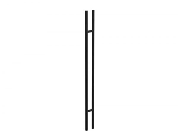 180 CM Black Satin Matt Entry Door Handles | Axton Series