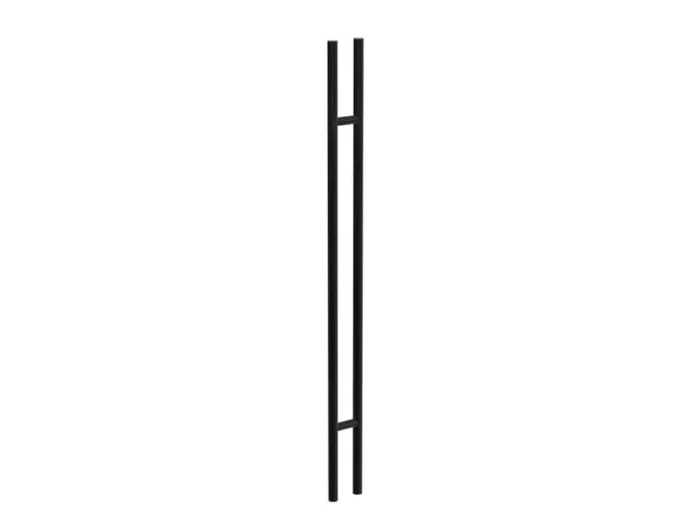 180 CM Black Satin Matt Entry Door Handles | Axton Series