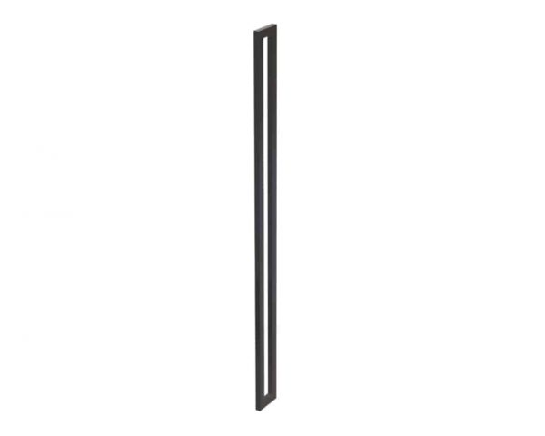 1800 MM Matt Black Satin Entrance Handles | Dalton Series