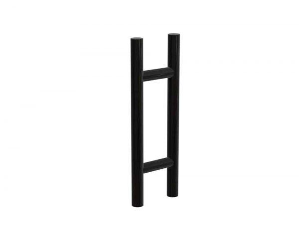 45 CM Matte Black Satin Entrance Door Pull Handles | Axton Series