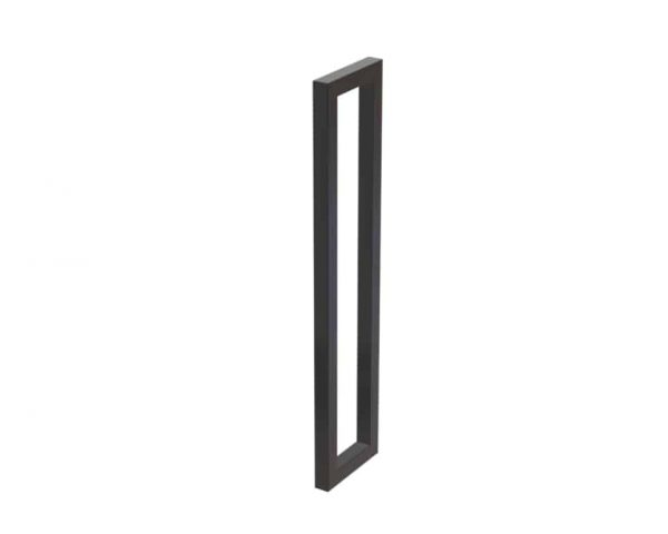 60 CM Satin Matte Black Entrance Door Pull Handles | Dalton Series