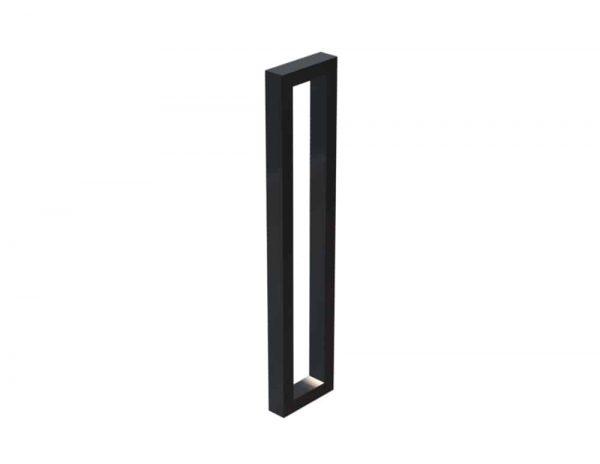 60 CM Satin Matte Black Entrance Door Pull Handles | Dalton Series