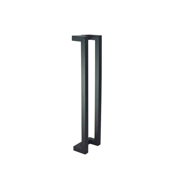60 CM Black Satin Matt Entry Door Handles | Milton Series