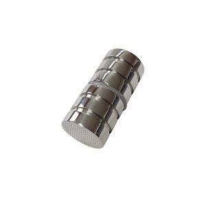 Polished Chrome Shower Door Handle 60mm Long, 30mm Diameter