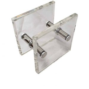 Acrylic Entrance Door Pull Handles 180x180mm | Royce Series