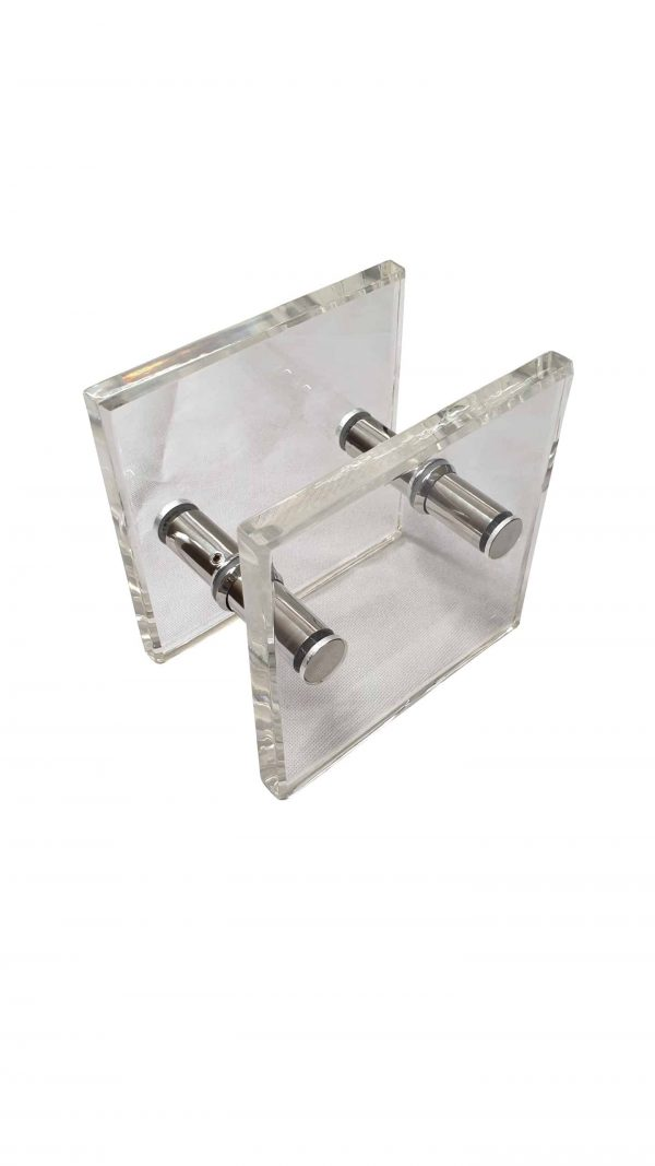 Acrylic Entrance Door Pull Handles 180x180mm | Royce Series