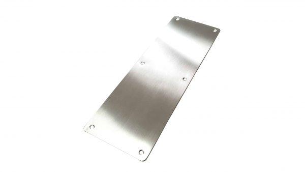 Brush Push Plate Door Handle 300x100mm