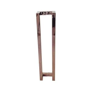 600 MM Rose Gold Polished Front Door Handles | Milton Series