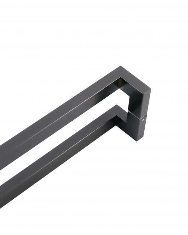 1.2m GUNMETAL GREY Handle for Front Door | Milton Series
