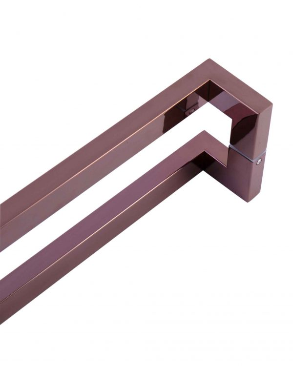 1200 mm ROSE GOLD POLISH Entry Door Pull Handle | Milton Series