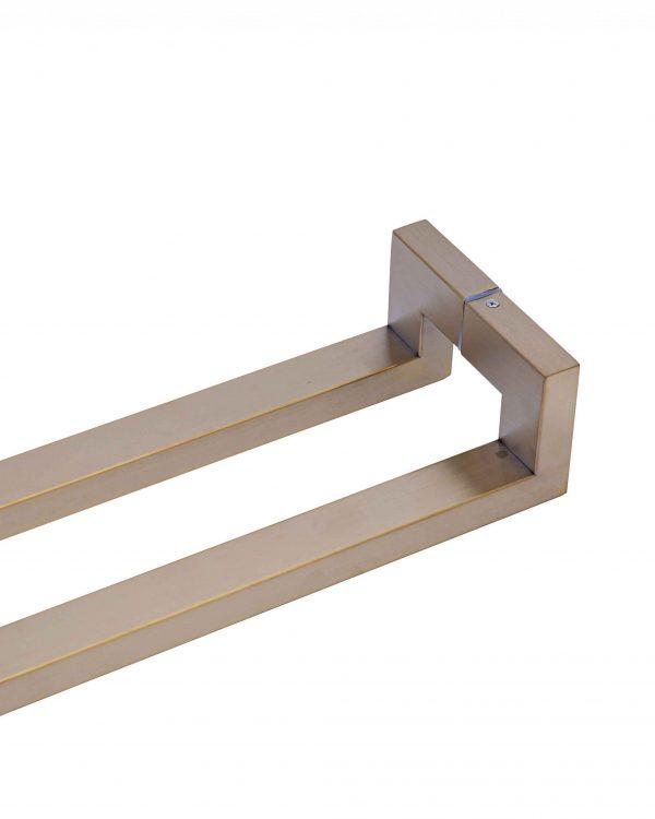 120cm SATIN GOLD Push Pull Handle | Milton Series