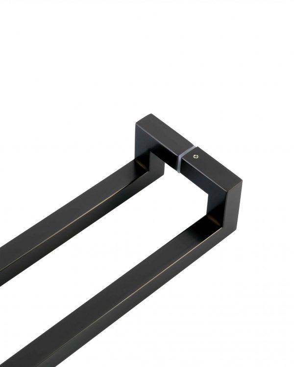 600mm GUNMETAL GREY Front Door Handle | Milton Series