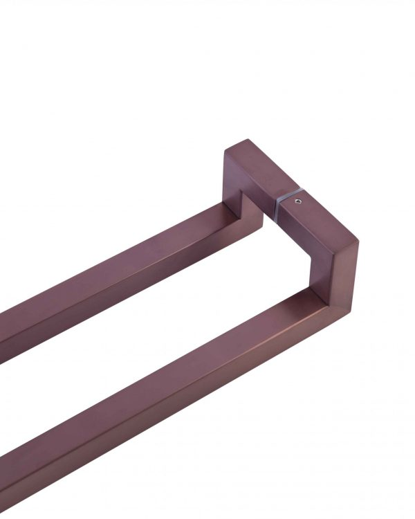 60cm ROSE GOLD SATIN Push Pull Handle | Milton Series