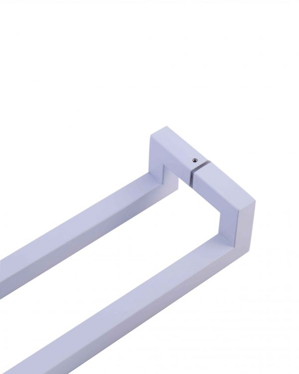 600mm WHITE Push Pull Handle | Milton Series